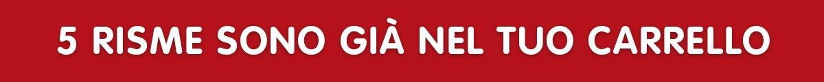 Carta A4 Euroffice a solo €1,79 a risma